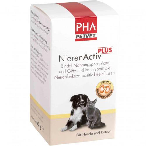 PHA NierenActiv Plus für Katzen, 60 G, PetVet GmbH