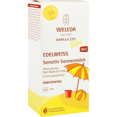 WELEDA Edelweiss Sens.Sonnenmil.LSF30(Baby & Kids), 150 ML, Weleda AG