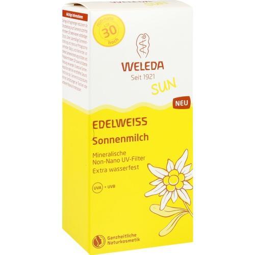 WELEDA Edelweiss Sonnenmilch LSF 30, 150 ML, Weleda AG
