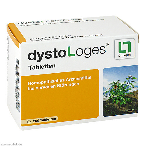 dysto Loges Tabletten, 260 ST, Dr. Loges + Co. GmbH