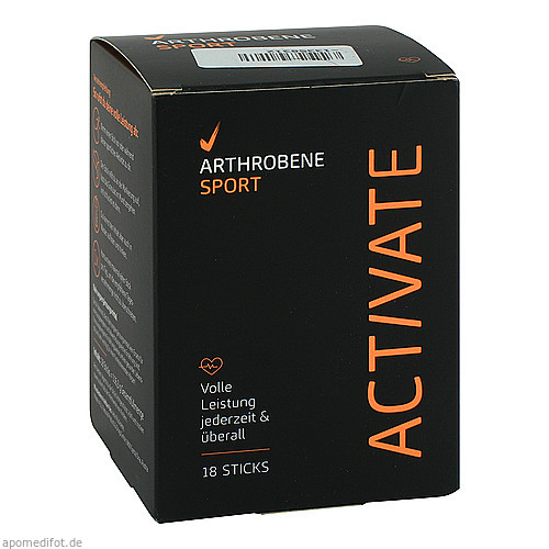 ARTHROBENE Sport Activate, 18 ST, Natural Products & Drugs GmbH
