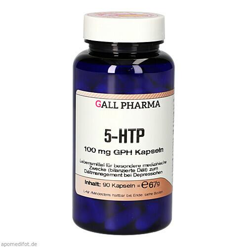 5-HTP 100 mg GPH Kapseln, 90 ST, Hecht-Pharma GmbH