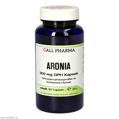 ARONIA 300 mg GPH Kapseln, 90 ST, Hecht-Pharma GmbH