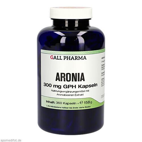 ARONIA 300 mg GPH Kapseln, 360 ST, Hecht-Pharma GmbH