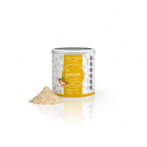 Yacon 100% Bio pur natuerliche Suesse, 240 G, Amazonas Naturprodukte Handels GmbH
