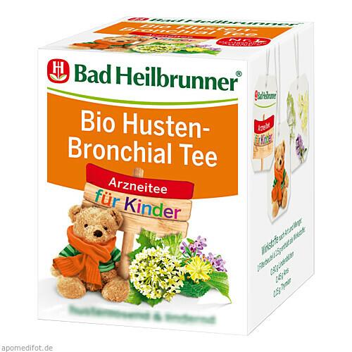 Bad Heilbrunner Bio Kinder Husten-Bronchial Tee, 8X1.5 G, Bad Heilbrunner Naturheilmittel GmbH & Co. KG