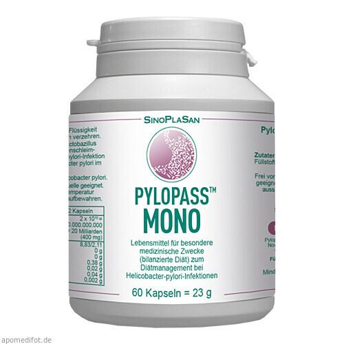 Pylopass MONO 200 mg bei Helicobacter pylori, 60 ST, Sinoplasan AG