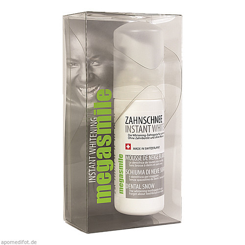 megasmile Instant Whitening Zahnschnee Schaum, 50 ML, Imp GmbH International Medical Products