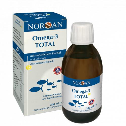 NORSAN Omega-3 Total, 200 ML, San Omega GmbH
