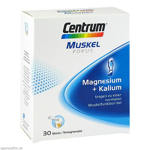 Centrum Fokus Muskel Magnesium + Kalium, 30 ST, Pfizer Consumer Healthcare GmbH