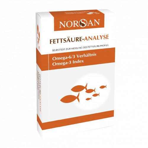 NORSAN Fettsäure-Analyse, 1 ST, San Omega GmbH