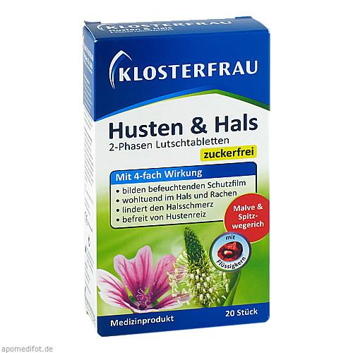 Klosterfrau Husten & Hals, 20 ST, MCM Klosterfrau Vertriebsgesellschaft mbH