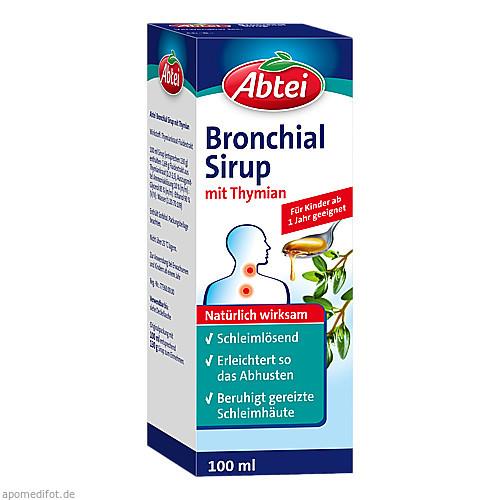 ABTEI Bronchial Sirup mit Thymian, 100 ML, Omega Pharma Deutschland GmbH