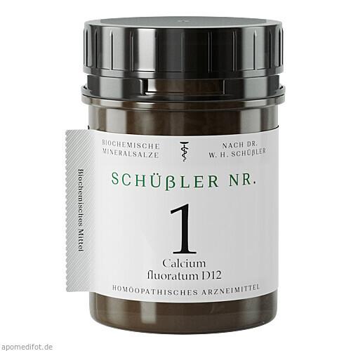 Schüssler Nr. 1 Cal. fluor. D12, 200 ST, Apofaktur E.K.