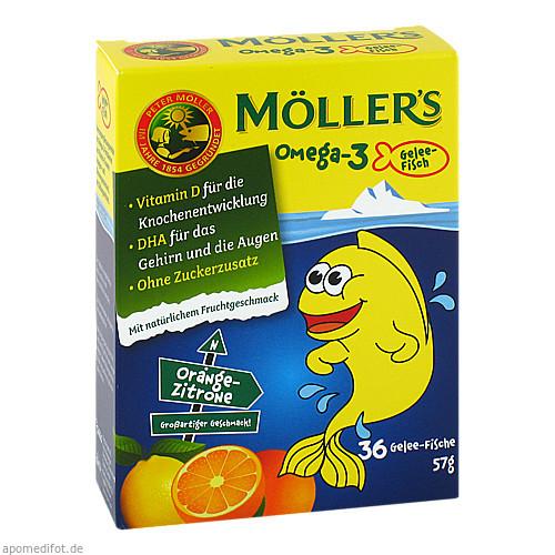 Möller's Omega-3 Gelee Fisch, 36 ST, doletra GmbH