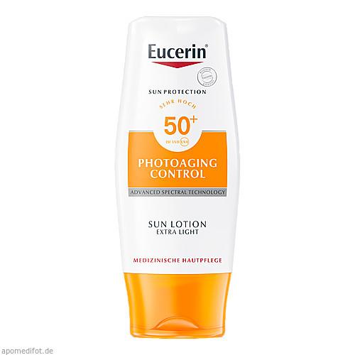 Eucerin Sun Lotion PhotoAging Control LSF 50+, 150 ML, Beiersdorf AG Eucerin