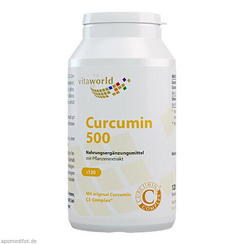 Curcumin 500, 120 ST, Vita World GmbH