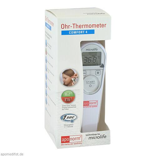 aponorm Fieberthermometer Ohr Comfort 4, 1 ST, WEPA Apothekenbedarf GmbH & Co KG