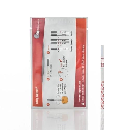 Drogenschnelltest THC 150ng/ml Cannabis, 10 ST, Nal von Minden GmbH