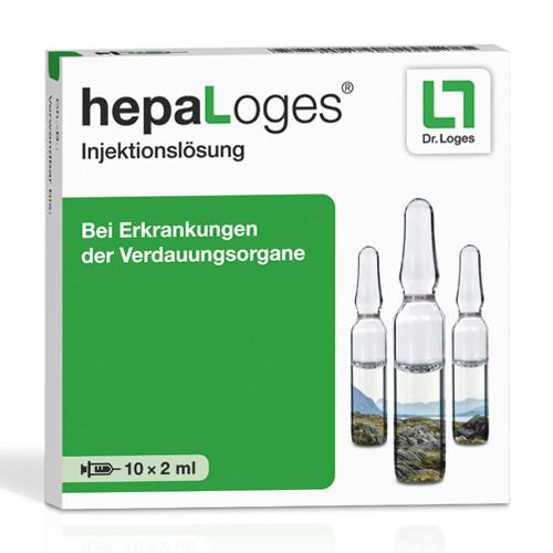 hepaLoges Injektionslösung, 10X2 ML, Dr. Loges + Co. GmbH