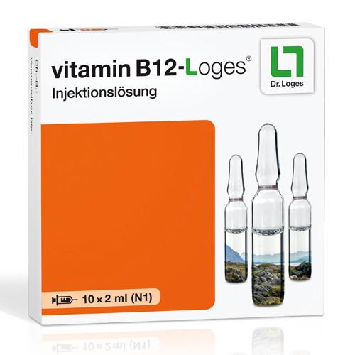 vitamin B 12-loges Injektionslösung, 10X2 ML, Dr. Loges + Co. GmbH
