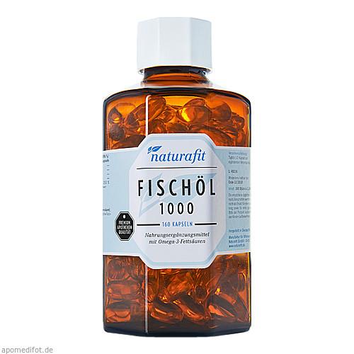 naturafit Fischöl 1000mg, 160 ST, Naturafit GmbH