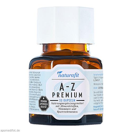 naturafit A-Z Premium, 30 ST, Naturafit GmbH