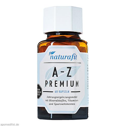 naturafit A-Z Premium, 60 ST, Naturafit GmbH