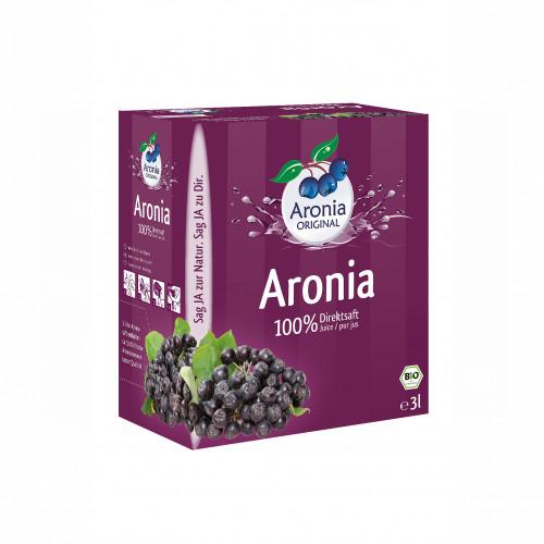 Aroniasaft BiB Bio FH, 3 L, Aronia Original Naturprodukte GmbH