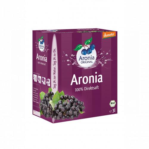 Aroniasaft BiB Demeter FH, 3 L, Aronia Original Naturprodukte GmbH