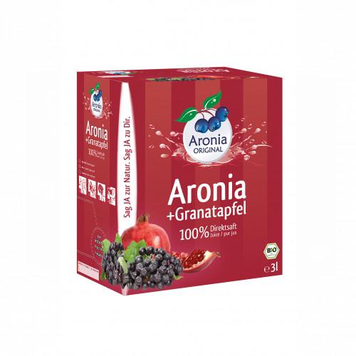 Aronia + Granatapfelsaft BiB Bio FH, 3 L, Aronia Original Naturprodukte GmbH