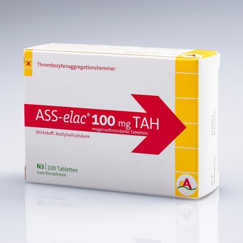 ASS-elac 100 mg TAH, 100 ST, Inter Pharm Arzneimittel GmbH