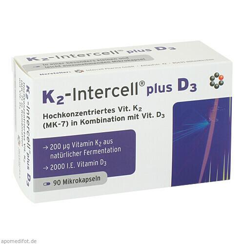 K2-Intercell plus D3, 90 ST, Intercell-Pharma GmbH
