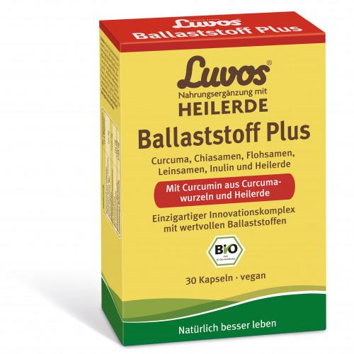 Luvos Heilerde BIO Ballaststoff Plus, 30 ST, Heilerde-Gesellschaft Luvos Just GmbH & Co. KG