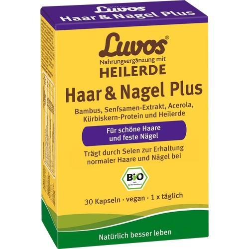 Luvos Heilerde BIO Haar & Nagel Plus, 30 ST, Heilerde-Gesellschaft Luvos Just GmbH & Co. KG