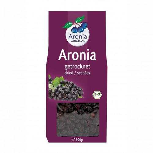 Aroniabeeren getrocknet Bio FH, 500 G, Aronia Original Naturprodukte GmbH