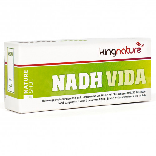 NADH Vida, 30 ST, kingnature AG