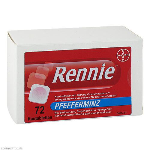 RENNIE Kautabletten, 72 ST, Pharma Gerke Arzneimittelvertriebs GmbH