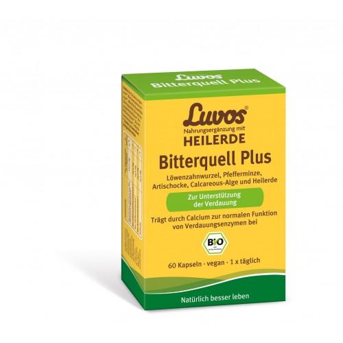 Luvos Heilerde BIO Bitterquell Plus, 60 ST, Heilerde-Gesellschaft Luvos Just GmbH & Co. KG
