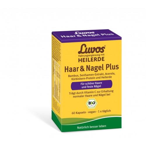 Luvos Heilerde BIO Haar & Nagel Plus, 60 ST, Heilerde-Gesellschaft Luvos Just GmbH & Co. KG