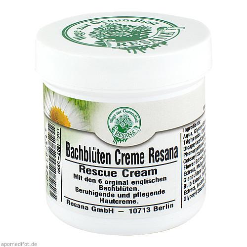 Bachblüten Creme Resana, 100 ML, Resana GmbH