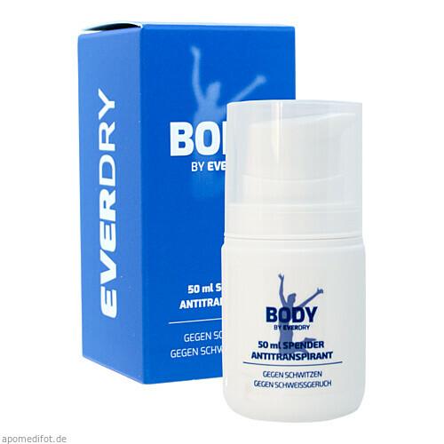 EVERDRY Antitranspirant Body im Spender, 50 ML, Imp GmbH International Medical Products