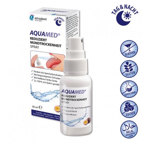 miradent Aquamed Mundtrockenheit Spray, 30 ML, Hager Pharma GmbH