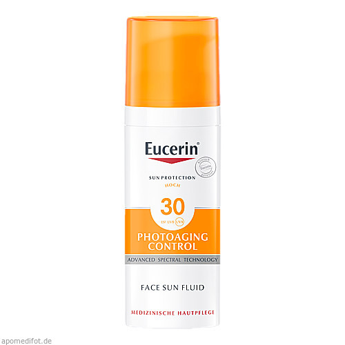 Eucerin Sun Fluid PhotoAging Control LSF 30, 50 ML, Beiersdorf AG Eucerin