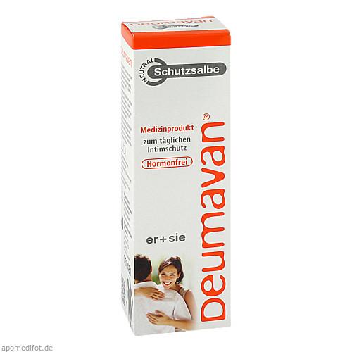 Deumavan Schutzsalbe Neutral Tube Medizinprodukt, 125 ML, Kaymogyn GmbH