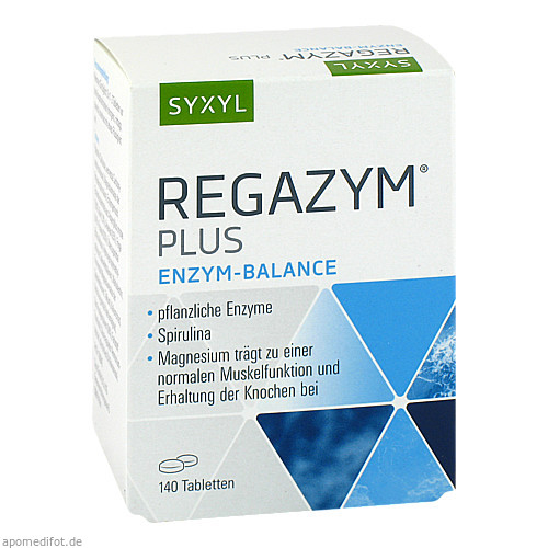 Regazym plus Syxyl, 140 ST, MCM Klosterfrau Vertriebsgesellschaft mbH