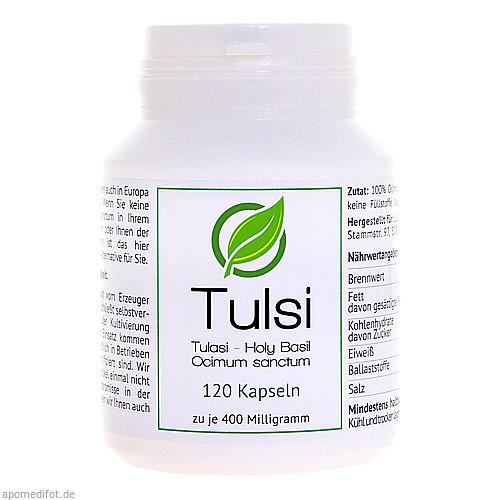 Tulsi (Ocimum sanctum) 400 mg, 120 ST, Lutor Trading & Distribution Limited