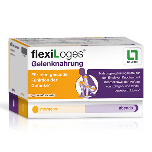 flexiLoges Gelenknahrung, 240 ST, Dr. Loges + Co. GmbH