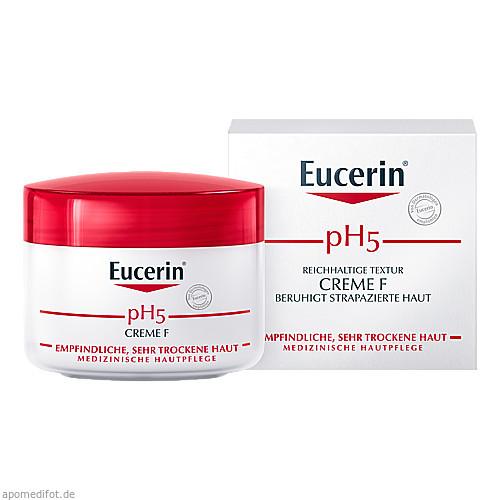 Eucerin pH5 Creme F Empfindliche Haut, 75 ML, Beiersdorf AG Eucerin