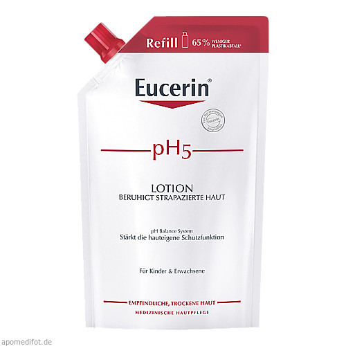Eucerin pH5 Lotion Nachfüll Empfindliche Haut, 400 ML, Beiersdorf AG Eucerin